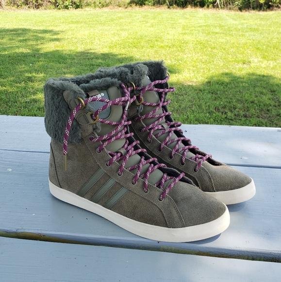 Adidas Neo SE Hozer Ortholite Hi Trainers Sz 10.5